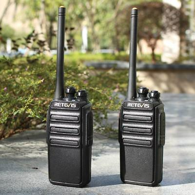 New Retevis H777 Walkie Talkie USB UK Charger Security Radio UHF 1000mAh 16CH 5W