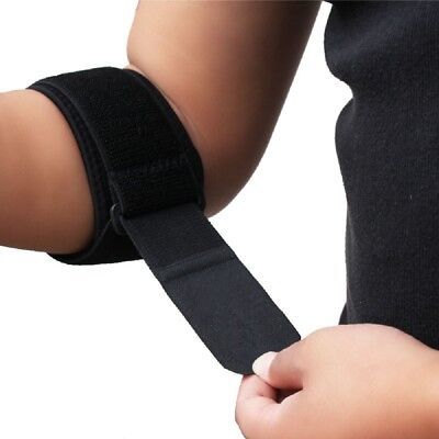 Golf Tennis Elbow Support Compression Brace Strap Band Forearm Protector Pad New