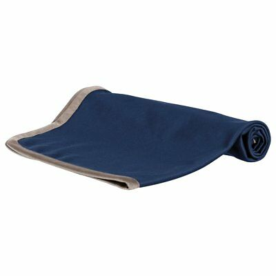 TRIXIE Outdoor Camping Blanket Insect Shield Mosquito Repellent Dark Blue 28562
