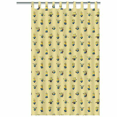 Minions Children's Curtain Blockout Kids Bedroom Window Drape Yellow ASSO220008