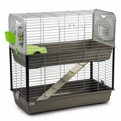 Beeztees Rabbit Cage Small Pet House Bed Play Ground Caesar 3 Double 266888