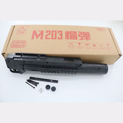 Grenade launcher M4 M203 Launcher Dragon Water Gun Toy Accessories