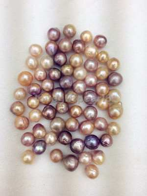 Undrilled Freshwater cultured Edison baroque loose pearl 11-13MM 1PC