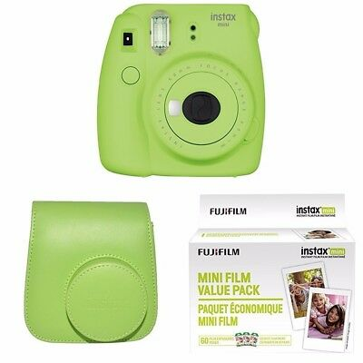 Fujifilm Instax Mini 9 Lime Green Instant Color Film Camera