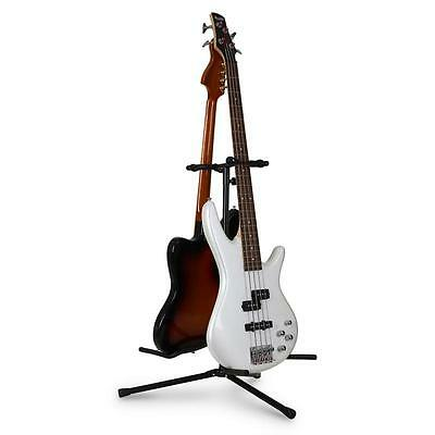 2-Way Acoustic Electric Bass Guitar Stand Adjustable Tripod Universal Holder
