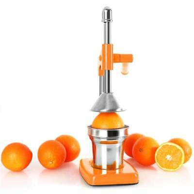 Oneconcept Ecojuicer Fruit Press Juice Squeezer Dishwasher Safe Stainless Steel