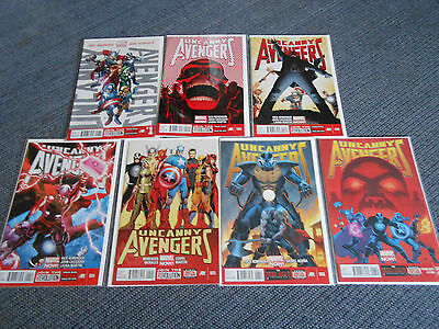 Uncanny Avengers #1 - #7 Vf+/nm 9.8  (Marvel Comics)