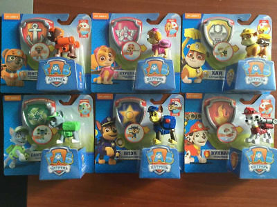 AU Paw Patrol Action Pack Pup dog backpack projectile toys Gift Figure Set of 6