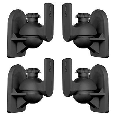 Lua Sb-28 Set Of 4 Black Speaker Mounts < 3.5 Kg