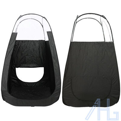 Portable Pop Up Spray Tanning Tent Black Tan Booth Mobile Fake Solar & Carry Bag