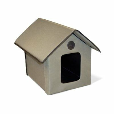 Cat Houses For Outdoor Shelter Winter K&h Kitty House Unheated WEATHER RESISTANT