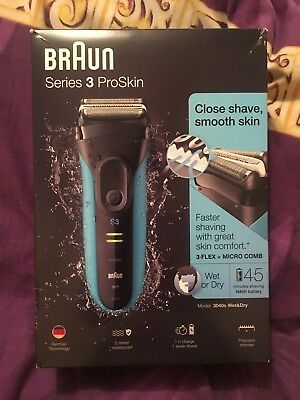 Braun Series 3 ProSkin Wet and Dry Shaver