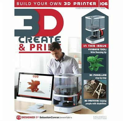 3D Create and Print - Issue # 106 - Wide Finessing Tip By Eaglemoss