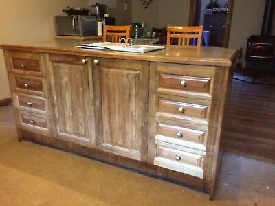 Solid Timber Kitchen including appliances ( cooktop, range hood, sink and oven)