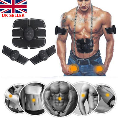 Muscle Training Massage Body Shape Fit Slim ABS Six Pad Trainer Sticker Wireless