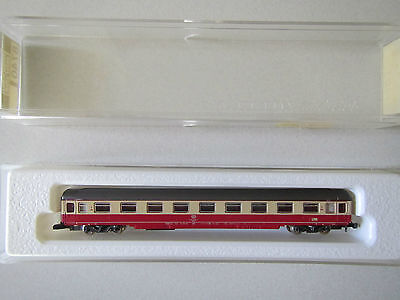 Marklin mini-club 8740 TEE DB 1st Class Coach Open Seating Boxed 1:220 Z Scale