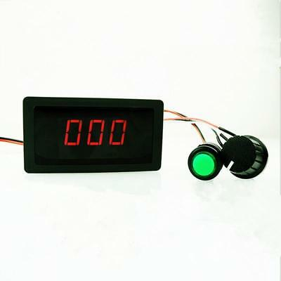 Dc 6V 12V 24V Max 8A Motor Pwm Speed Controller With Digital Display & Switch