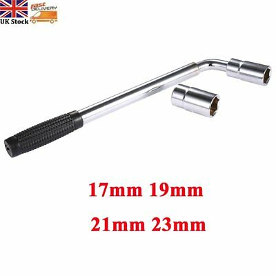 17 19 21 23mm Extendable Wheel Telescopic Car Van Brace Socket Tyre Nut Wrench