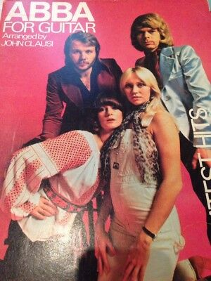 Sheet Music - Abba for Guitar - Greatest Hits