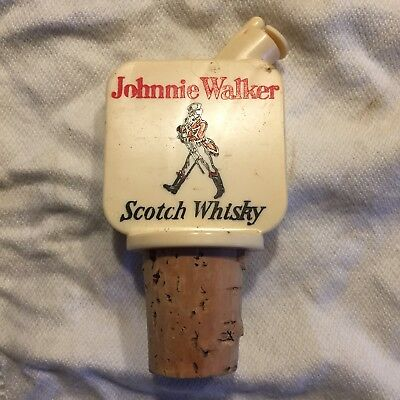 Johnnie Walker Shot Pourer - Scotch Whiskey Collectable