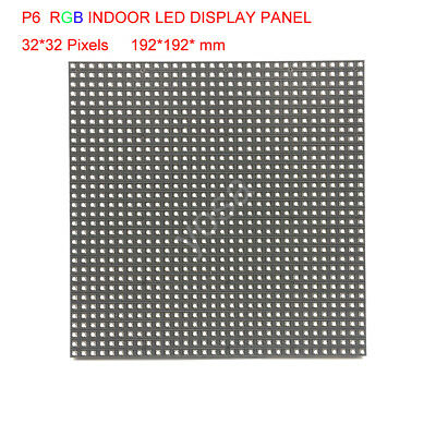 P6 Led Module Display Panel 3528SMD 3in1 Indoor HD 32*32 Pixels RGB Full Color