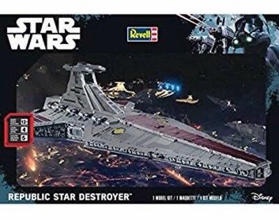 Revell Star Wars Republic Star Destroyer 85 6428 Scale Model Kit