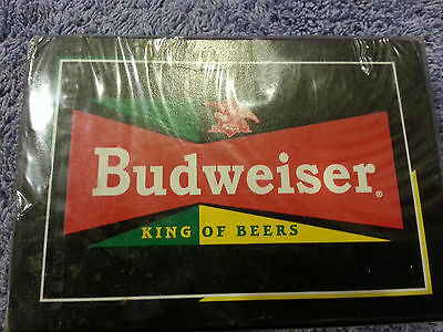 """1990`s Budweiser """"The King of Beers"""" Playing Cards ** New Poker Deck **"""