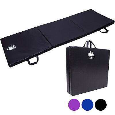 Gym Master 3 Folding Exercise Mat Yoga/Pilates/Gymnastics Class Workout Fitness