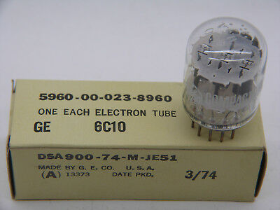 Röhre / Tube  6C10 triple triode, NOS, originally US made Compactron