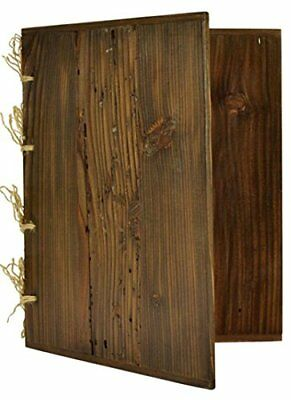 WOODEN MENU HOLDER A4 BAR RESTAURANT NATURAL LOOK DISPLAY LIST WINE - engraving