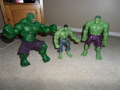 The Incredible Hulk Collectible Figures (Lot of 3)