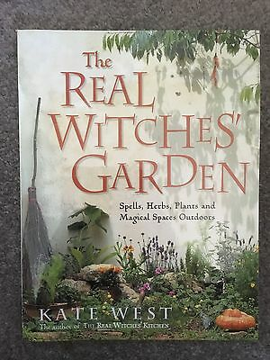 The Real Witches' Garden by Kate West NEW
