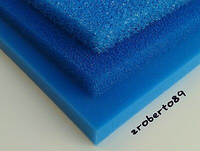 3 x DIY Course/Fine Aquarium Fish Tank Filter/Sponge Foam Pond 18''x12''