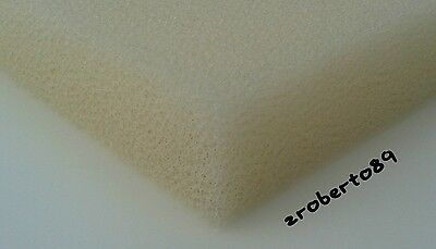 1 x DIY Medium 30 PPI Foam Media Sheet for Pond and Aquarium Filters 12''x9''