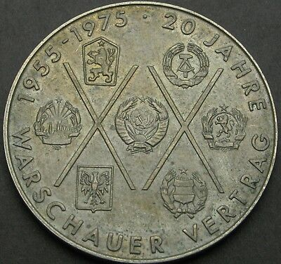 GERMANY (East) 10 Mark 1975A - The Warsaw Pact - aUNC - 1777 ¤