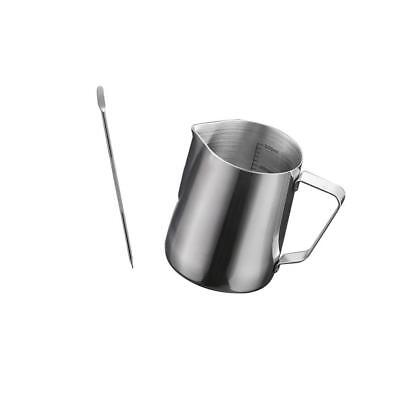 Barista Coffee Cappuccino Latte Decorating Art Pen Stainless Steel Jug S