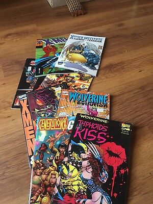 Marvel Wolverine And X-men Graphic Novels Job Lot 9 Books