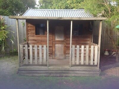 cubby house used