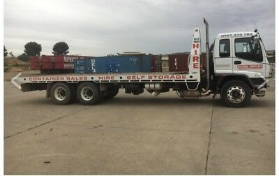Shipping Container Cartage Throughout Vic  &  Nsw Tilt tray & Sideloader