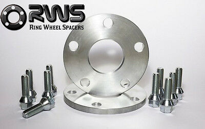 Mercedes Audi A5 /10mm Wheel Spacer Kit 5x112PCD 66.6  with bolts m14