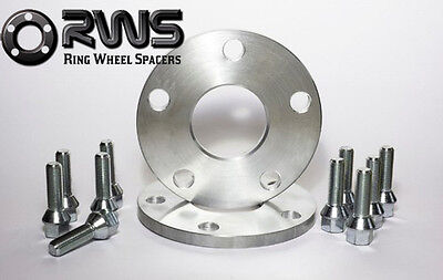 Mercedes Audi A5/ 10mm Wheel Spacer Kit 5x112PCD 66.6  no bolts  new