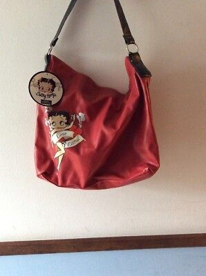 Betty Boop New with tags red purse zipper top