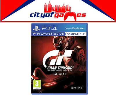 Gran Turismo Sport Game PS4 New & Sealed Free Express Post In Stock Now