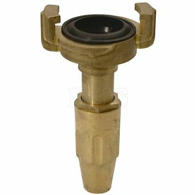 "Geka Style 1"" Quick Release Nozzle  Brass - 62802"