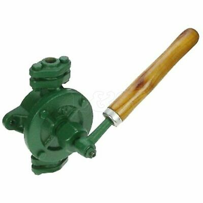 "Semi Rotary Cast Iron Hand Pump 1"" BSP Outlet"