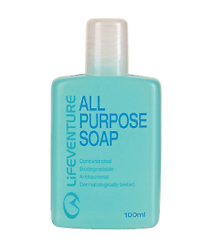 Lifeventure All Purpose Biodegradable Soap/Body Wash/Shampoo/Washing up Liquid