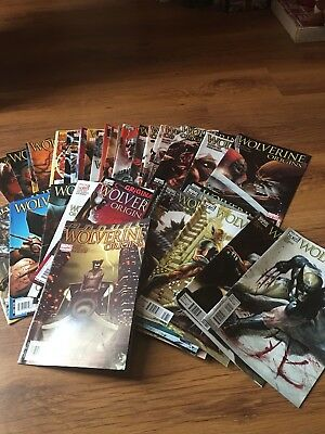 Wolverine Origins Massive Comics Job Lot Complete Story Arc 51 Comics
