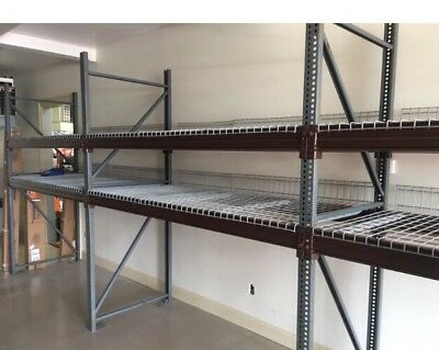Pallet Racking 9 8' Sections Local Pickup Only Commercial Pallet Rack