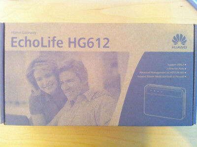 BT Openreach Huawei HG612 V2 EchoLife VDSL2 modem-router for BT Infinity Users