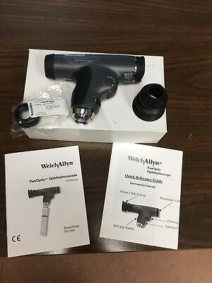 PanOptic 3.5 V Halogen HPX Ophthalmoscope  with Slit Aperture 11820-L (LED)